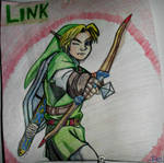 Link Drawing - TLoZ: Ocarina of Time