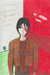 Human or Titan by TheARTIST-4