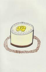 Banana Cheesecake by TheARTIST-4