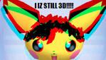 3D Pichu IN 2D