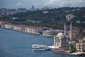 Mecidiye Mosque and Bosphorus by EtemColaK