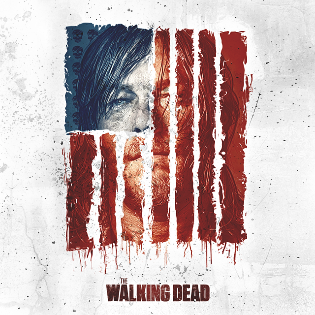 The Walking Dead poster by bananowsky