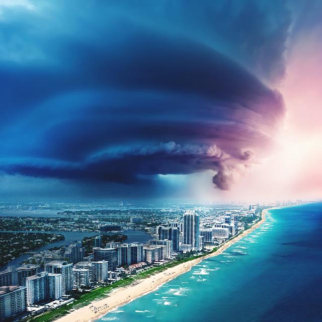 Miami, beach! by bananowsky