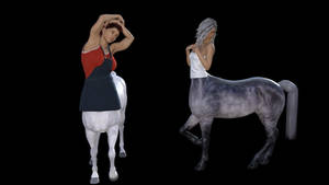 Centaurs standing