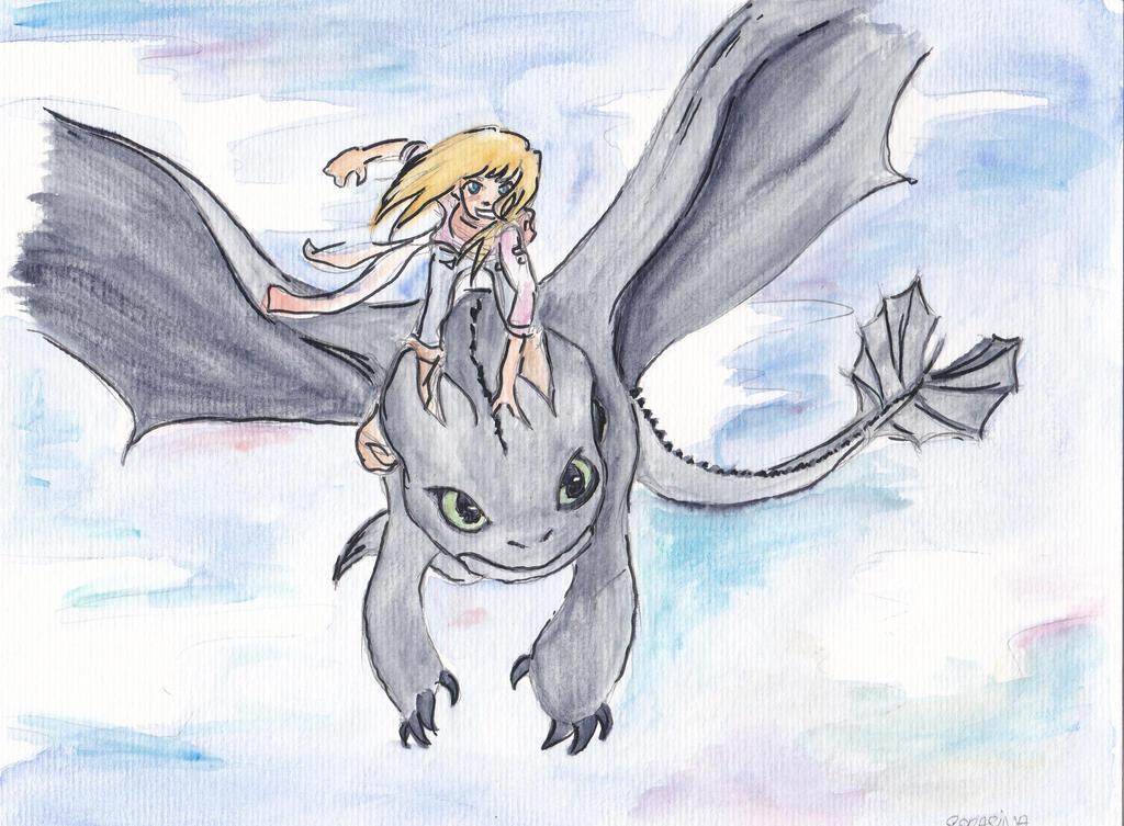 Toothless by SoraSina