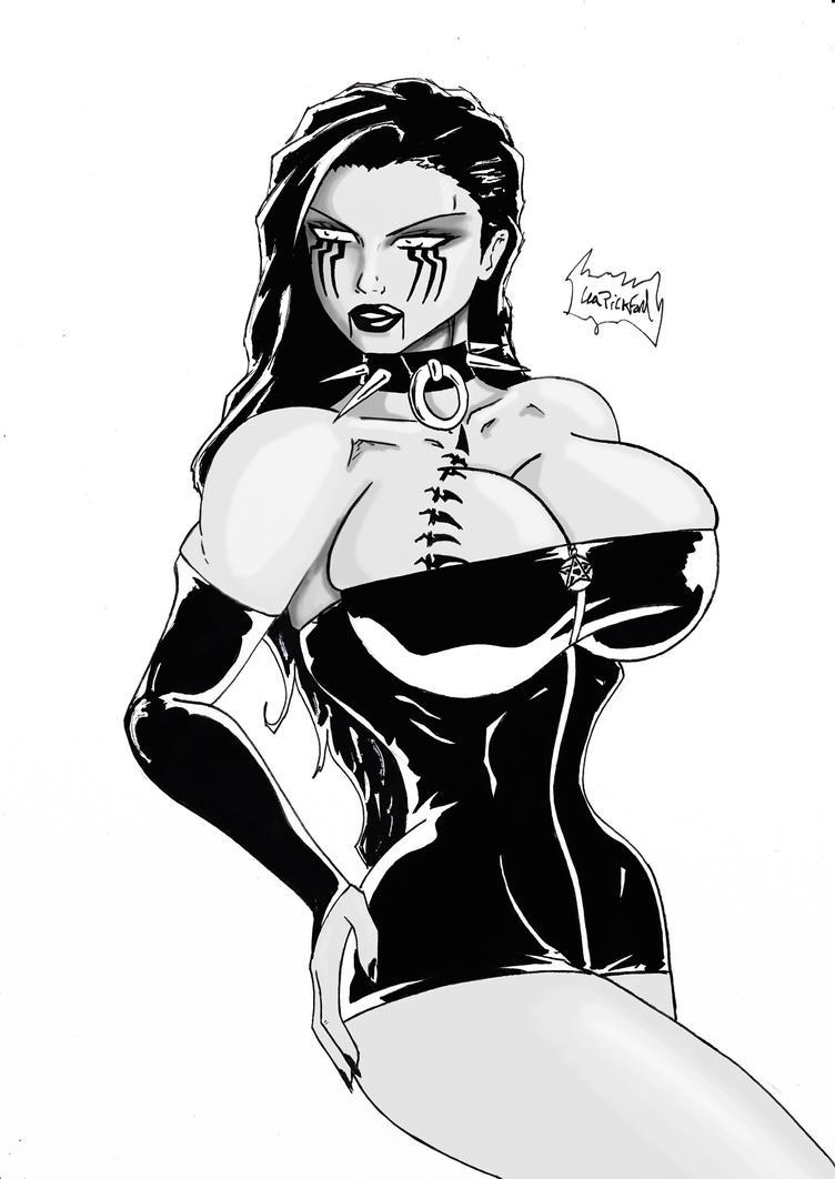 Raven Hex 1 c by MIRAGE-5X5