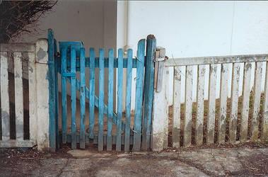 Portail bleu. by leingad