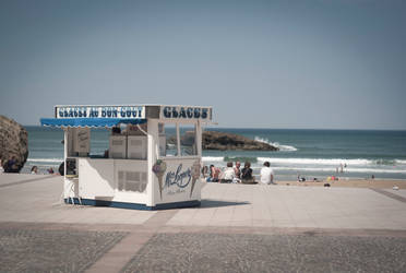 Glaces a Biarritz by leingad