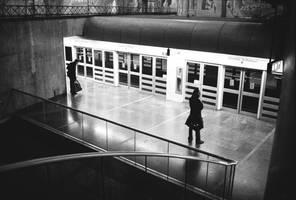 Les courbes du metro.