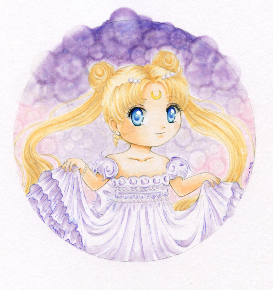 Princess Moon by babiry