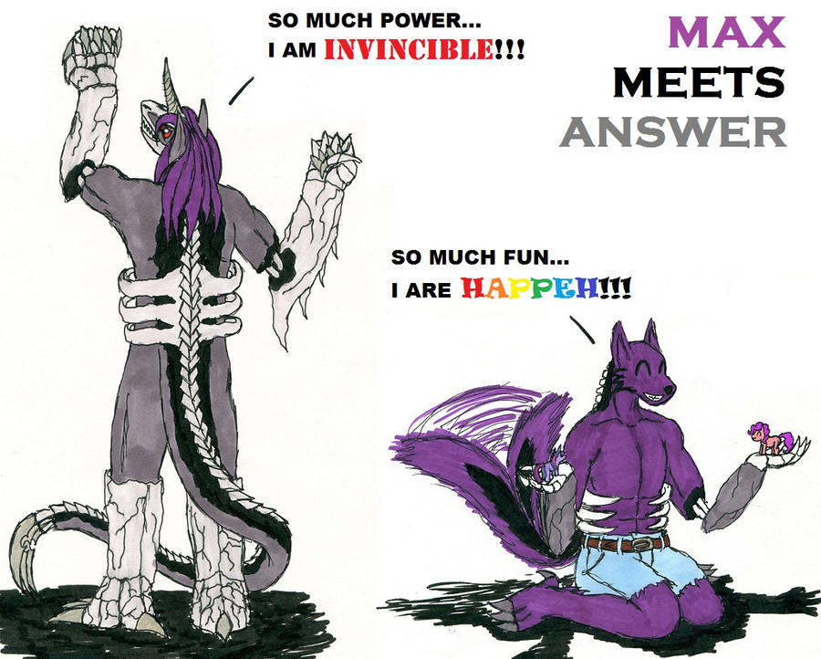 Max N' Answer by Damn-Yuki