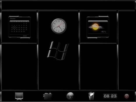 BlackChrome Desktop V 1.0