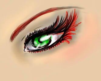 Eye of the Goddess by EverlastingRainbow