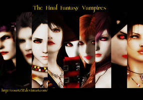 The Final Fantasy Vampires Wallpaper by COURTZ57