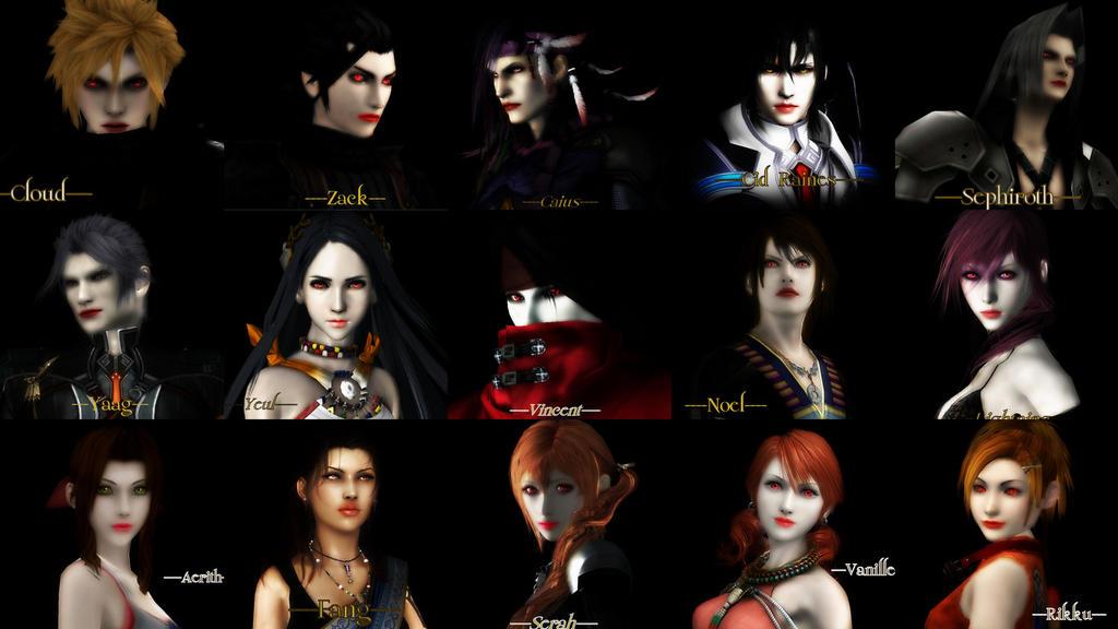 FF Twilight Wallpaper By COURTZ57
