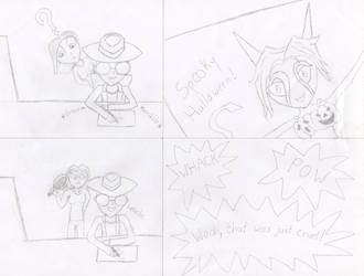 DK Halloween 2015 entry sketch by Halfdrake010