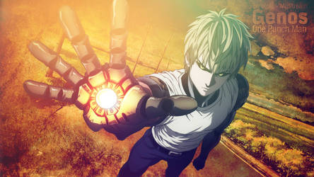 Wallpaper-genos-one-punch-man by oioiji