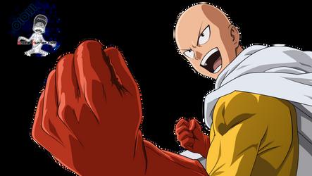 Render-saitama-one-punch-man-by-oioiji by oioiji