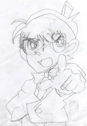 Detective Conan (top) by elnitiarta