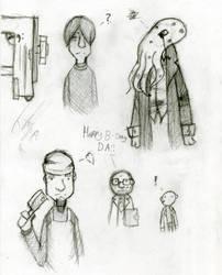 Pencil Doodles by commie88