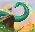 Acquaintance with Dragon by XZoMMbYX