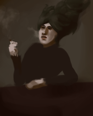 Smoking Lady + VIDEO by tonyt
