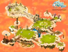 Wakfu Dungeons - Celestial Prairies (Bonta) by GamaWeb
