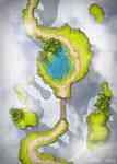 Garden in the Sky battlemap