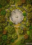 Sacrifice ruins 25x35 battlemap