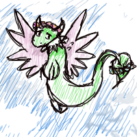 dragon concept by TheMewtwoLady