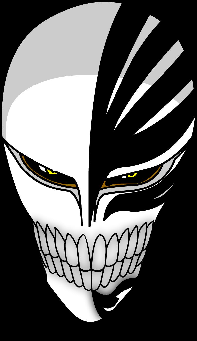 ichigo hollow mask by hylian