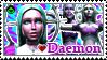 ReBoot Stamp Series- Daemon by kirbykandy