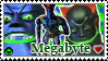 ReBoot Stamp Series- Megabyte by kirbykandy