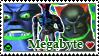 ReBoot Stamp Series- Megabyte by kirbykandy