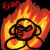 Fire Kirby by kirbykandy