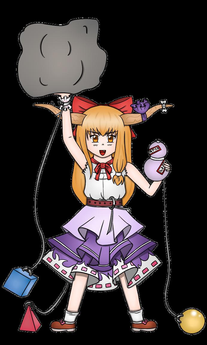 Suika Ibuki by annika11112