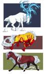 Galloping Trio by MaraMastrullo