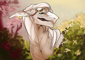 Blooming gal by MaraMastrullo