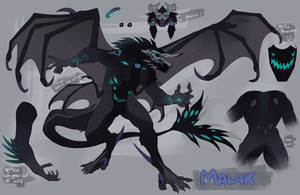 Malak's Monster form by MaraMastrullo