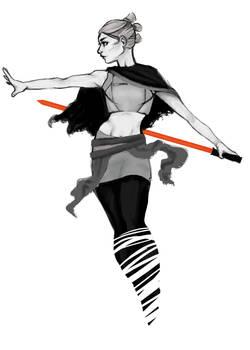 Dark Rey Sketch