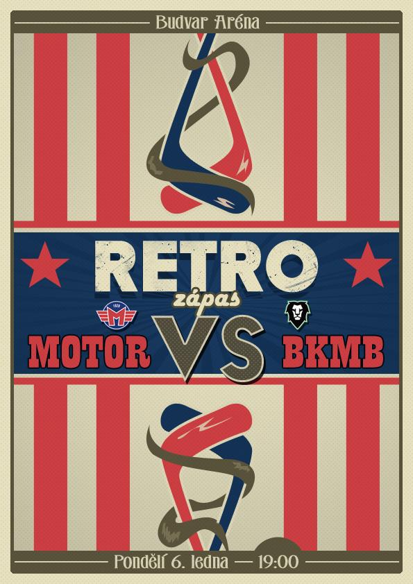 Retro Hockey Game Poster By Kindlinho