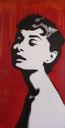 Audrey in Red by Jbaileyrowe