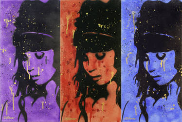 The Crying Game Triptych by Jbaileyrowe