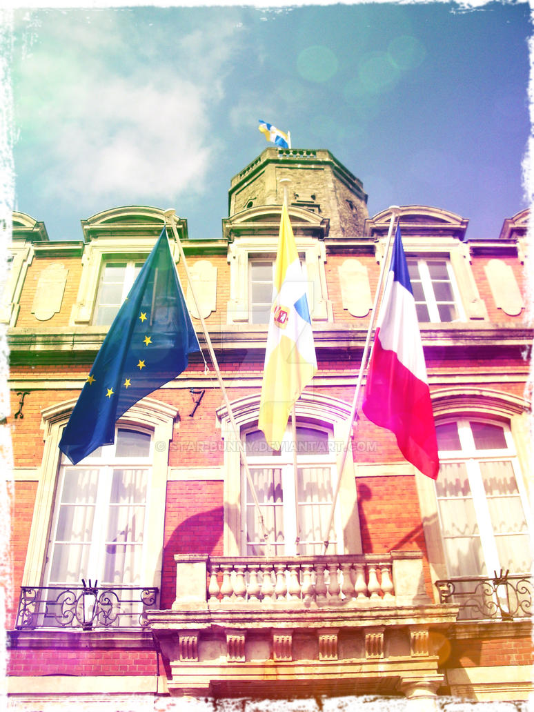 Flags at Boulogne