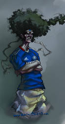 AFRO es supporter del CHELSEA by marioneTTe2007