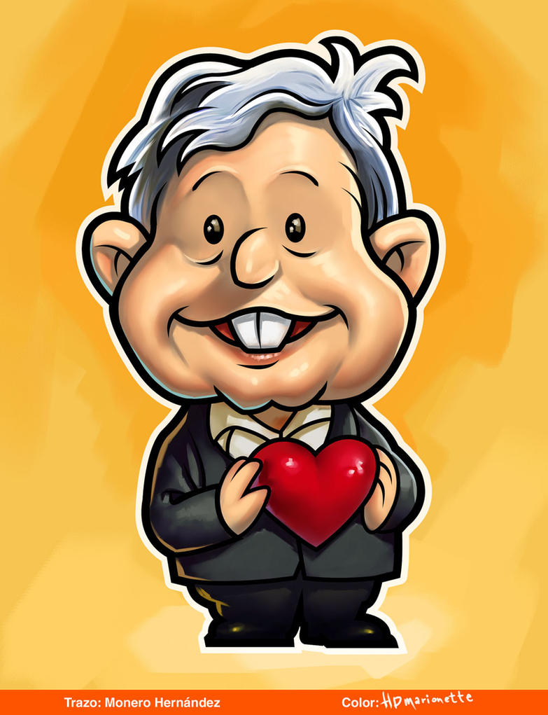 Image result for lopez obrador cartoons