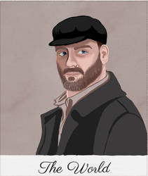 Supernatural Tarot: Benny Lafitte, The World by MnesomnesTears