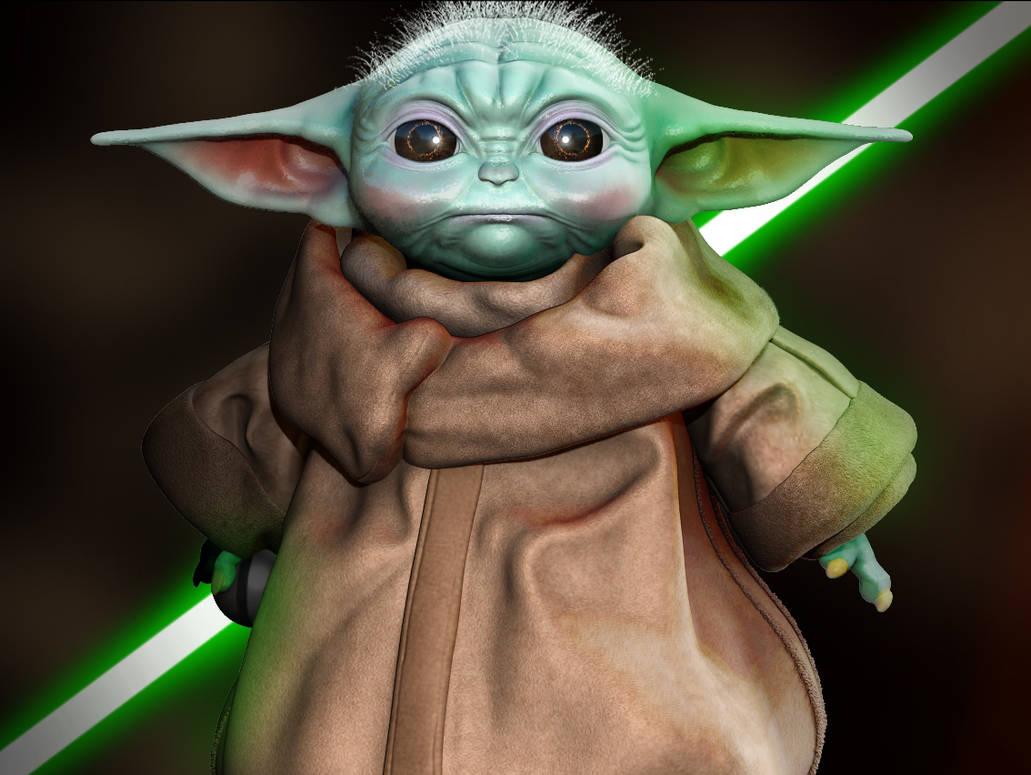 Baby Yoda Fan Art By Karamveeryo On Deviantart