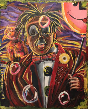 the clown portrait (again)
