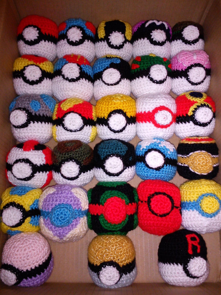 pokemon pokeballs all 5 generations plus rocket by alien